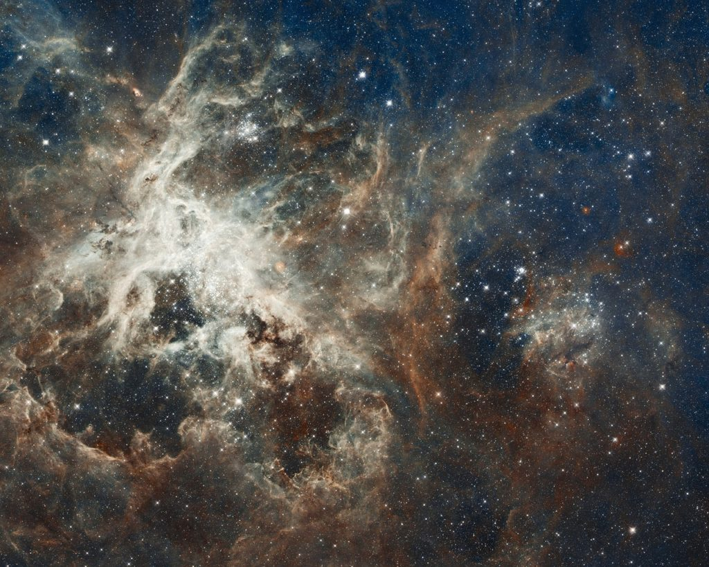 galaxy, star, tarantula nebula